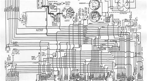 auto wiring diagram  plymouth belvedere fury