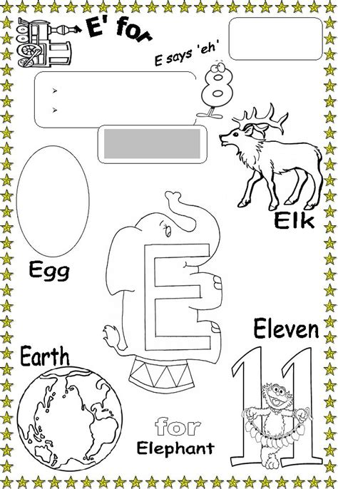 words that start with e preschool the gallery for gt things that start with letter i for 879