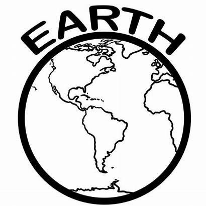 Earth Coloring Pages Printable Template Planets Clip
