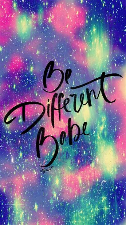 Galaxy Quotes Different Hipster Babe Quote Phone