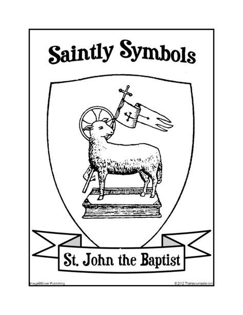 Saint John the Baptist Symbols