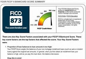How Does The Fico 8 Bankcard Score Differ From A Fico