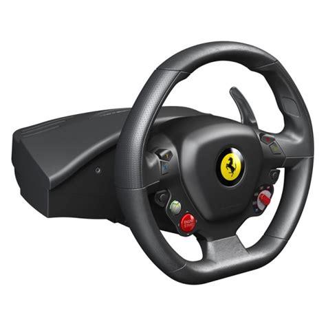Xbox 360 Steering Wheel by Thrustmaster 458 Italia Steering Wheel For Xbox