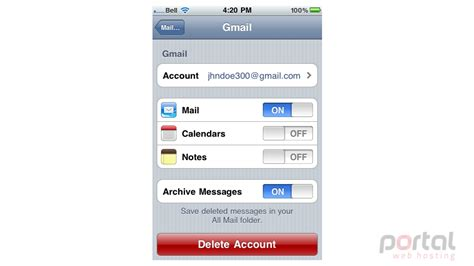 change email password on iphone how to change your email password on your iphone