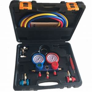 R134a Ac Manifold Pressure Gauge Set Automotive Air