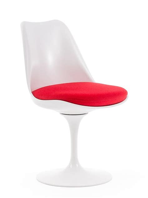 coussin chaise tulipe knoll knoll international saarinen tulip chair by eero saarinen