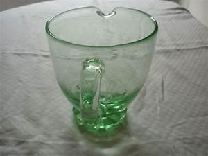 Vert D Eau Couleur : pichet broc vintage en verre moule couleur vert d eau ~ Mglfilm.com Idées de Décoration
