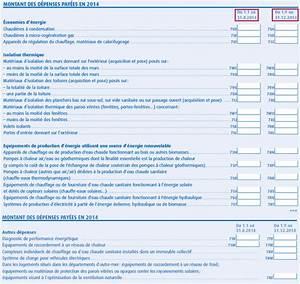 Declaration D Achat Vehicule A Remplir En Ligne : remplir sa feuille de d claration de revenus pour le cr dit d imp t ~ Gottalentnigeria.com Avis de Voitures