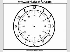Telling Time Worksheets Blank Clock Faces Worksheets for
