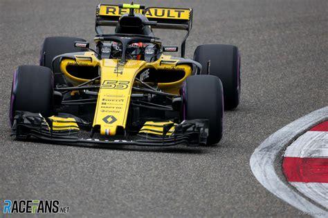 Carlos Sainz Jnr Renault Shanghai International Circuit