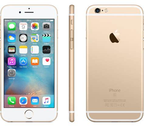apple iphone 6 128gb apple iphone 6s 128 gb gold deals pc world