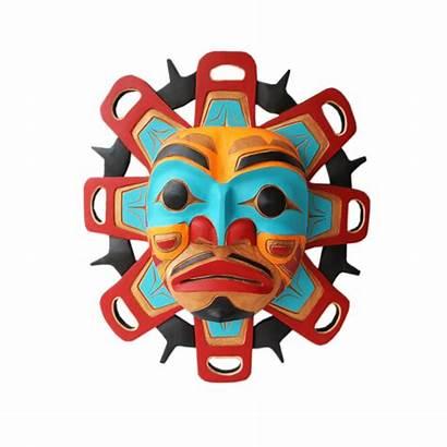 Indigenous Masks Coast West Canadian