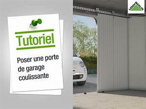 installer une porte de garage installation d 39 une porte With comment securiser une porte de garage sectionnelle