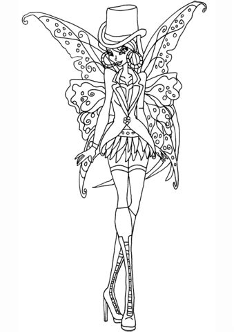 gothic flora coloring page  printable coloring pages