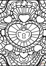 Coloring Abstract Pages Patterns Heart Adults Printable Hearts Colouring Colorama Geeksvgs Getcolorings Drawing Dot Paper Colorings Crafts Arts Getdrawings Supercoloring sketch template