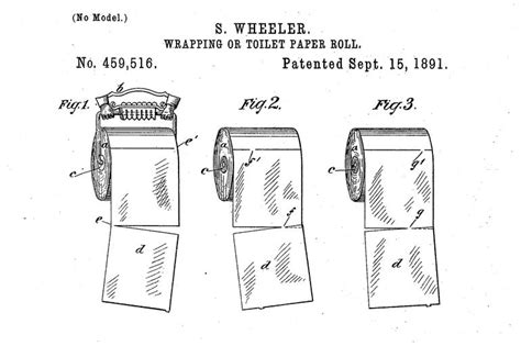 invention du papier toilette why an 1891 toilet paper patent is all cnet
