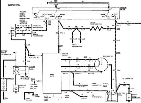 1989 Ford F 150 Ignition Wiring by 95 Ford F150 Ignition Wiring Diagram Collection