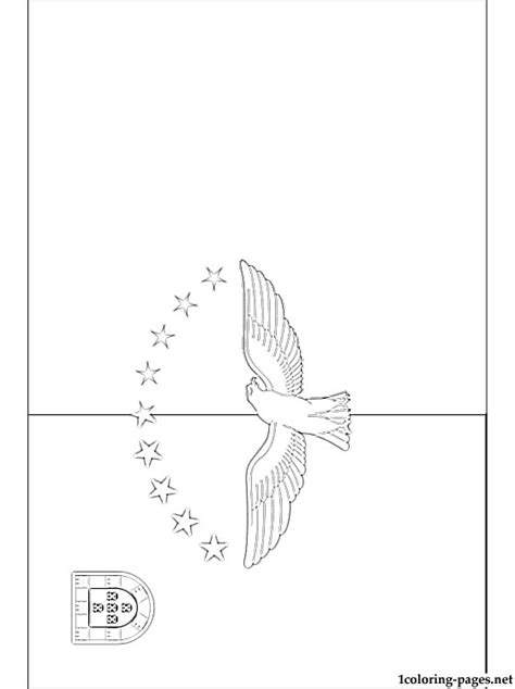 azores flag coloring page coloring pages