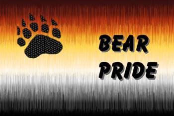 furry bear pride flag  bear pride letters  jack fetch