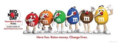 M&m's Red Nose Day Campaign