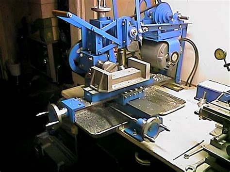 bruces homemade milling machine