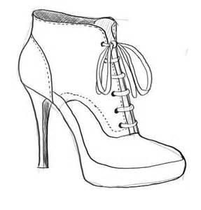 high heels selber designen damenschuhe zeichnen dekoking