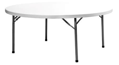 table de reception ronde pliante 180 cm pour trait
