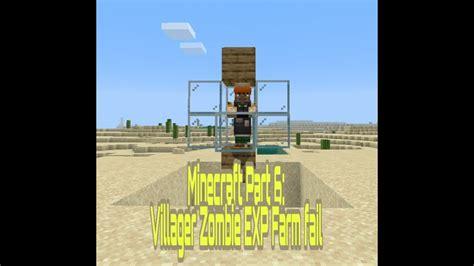 minecraft villager zombie farm exp