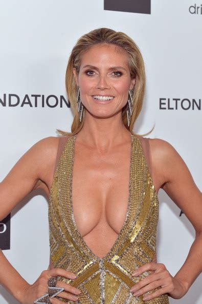 Heidi Klum Body Measurements Celebrity Bra Size Body