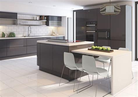 light grey gloss kitchen 25 best ideas about modern grey kitchen on 6991