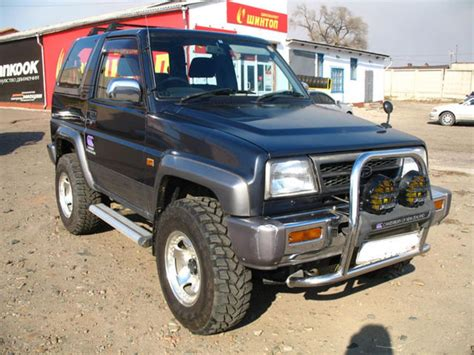 1996 Daihatsu Rocky Pictures For Sale