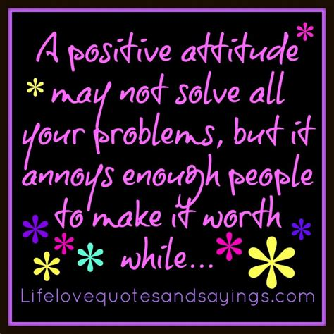 Quotes About Positive Attitude Quotesgram