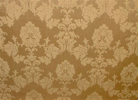 10 metres madagascar gold designer brocade damask curtain