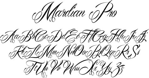 lettering tattoo fonts cursive tattoo