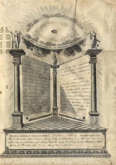 illuminati and masons 1826 masonic diploma freemasonry masonic masonic