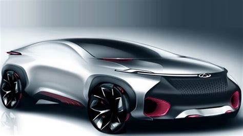 Coupe Cars : Chery Shows Electric Crossover Coupe Concept For Beijing