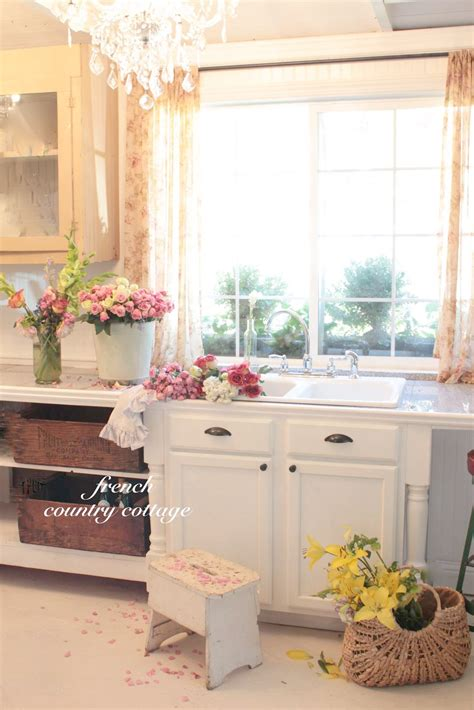 Country Cottage Kitchen by Vintage Inspired Guest Cottage Kitchen Country