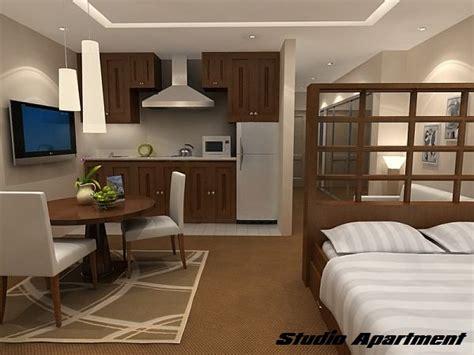 difference  studio apartment   bedroom