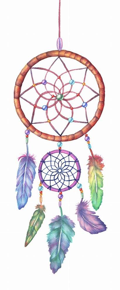 Dreamcatcher Drawing Watercolor Illustration Painting Catcher Dream