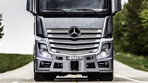mercedes benz actros    tech truck