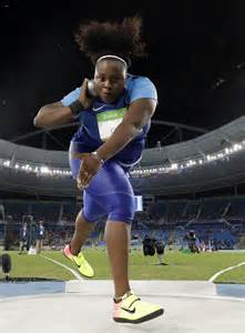 Carter's last throw nets 1st US Olympic gold in women's ...