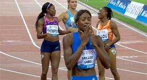 VIDEO: Elaine Thompson finishes 2nd in Women's 200M Final ...
