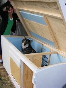Insulated dog house plans for large dogs free unique dog for Insulated dog houses for large dogs