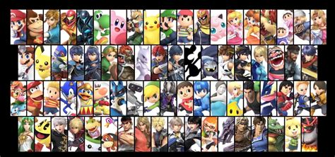 all 74 smash bros ultimate characters been revealed dlc and fighters pass announced