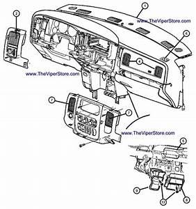 2004 Jeep Grand Cherokee Interior Parts Diagram