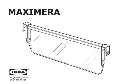 separateur tiroir cuisine maximera séparateur pour tiroir moyen blanc transparent