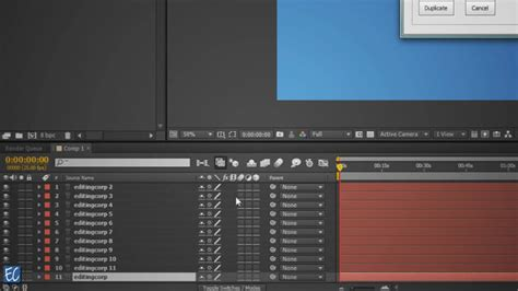 effects script  duplicating layers