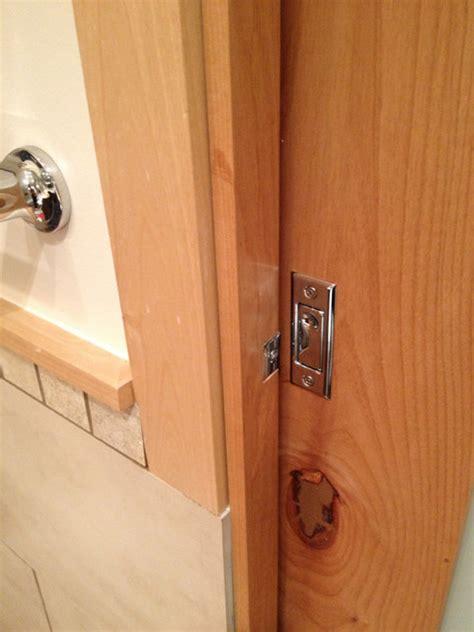 lock  bathroom pocket door terry love plumbing