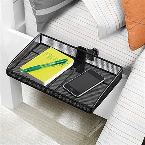 clip on bedside table mesh clip on shelf bed bath beyond