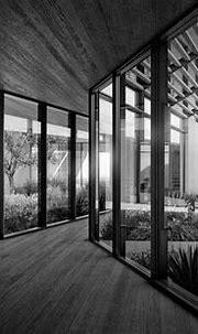 Desert Villa Interior BW | Visualizing Architecture ...